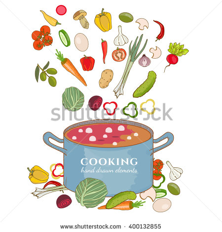 Chopped Vegetables Stock Photos, Royalty.