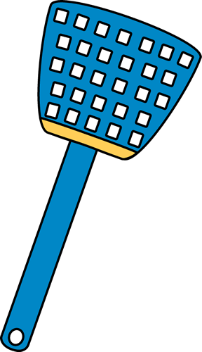 Fly Swatter Clipart.