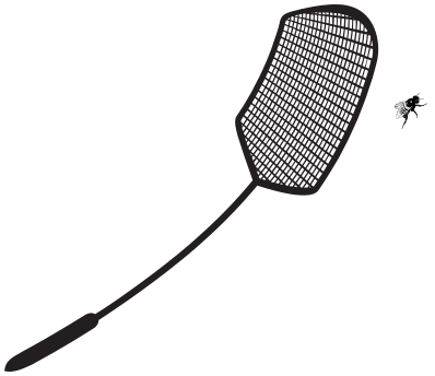 1900 fly swatter.