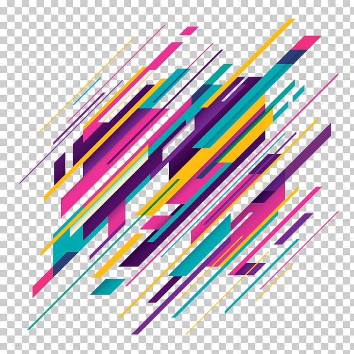 Desktop , Free Flyers, multicolored abstract lines PNG.