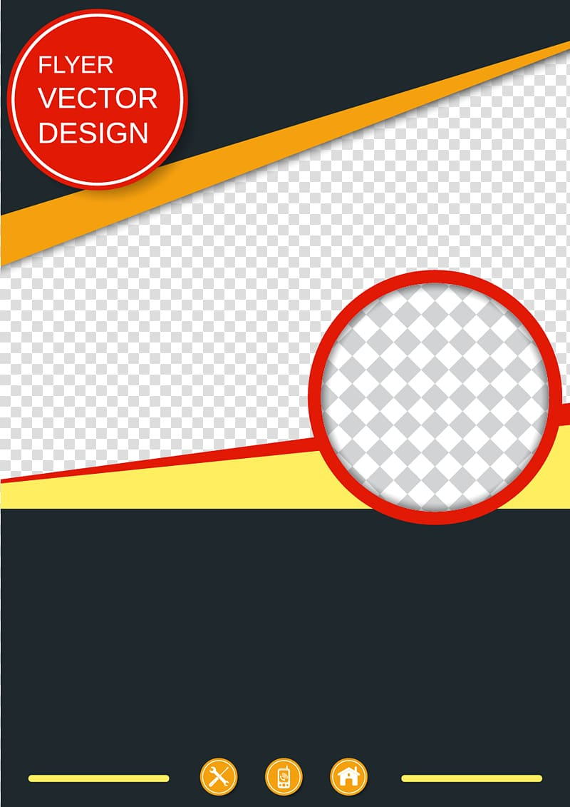 Brochure Poster Template, creative business poster material, flyer.