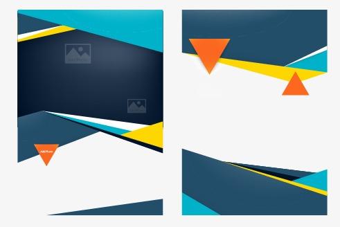 Vector Creative Book Design Creative, Beautifully Single Page, Flyer.