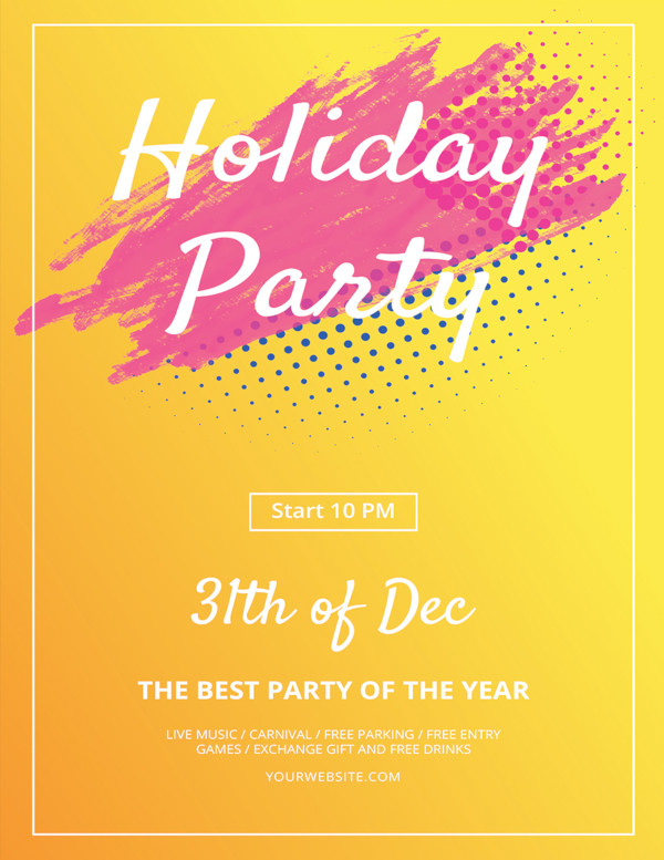 35+ Holiday Flyer Templates.