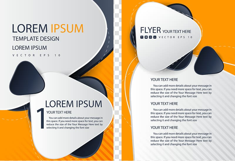 Lorem Ipsum template design, Flyer Brochure Template, Single Page.
