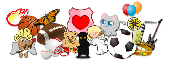 Exciting new Clip Art for Party Flyers and More!.