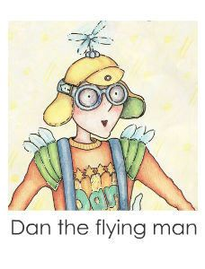 Dan the Flying Man photo book.