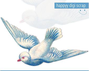 Flying bird stencils.