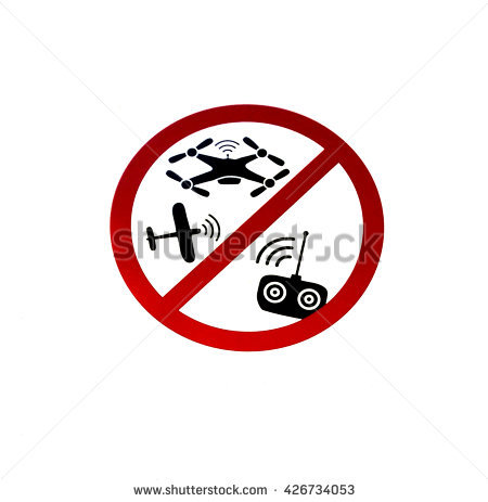 A Sign Saying 'Flying Of Model Aircraft Is Not Allowed'. It Can Be.