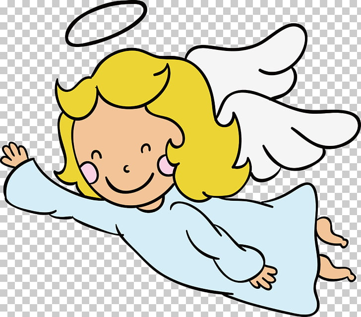 Flight Angel , Angel flying PNG clipart.