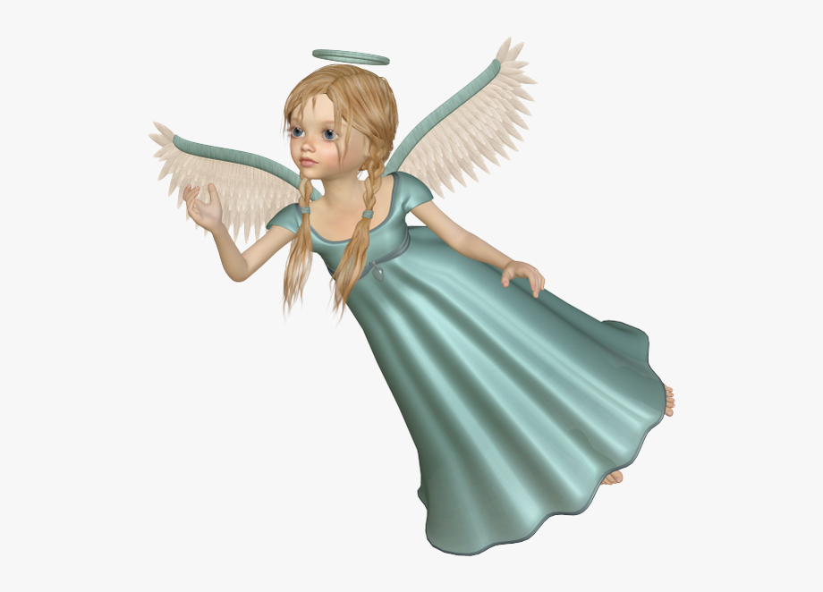 Flying Angels Clipart.