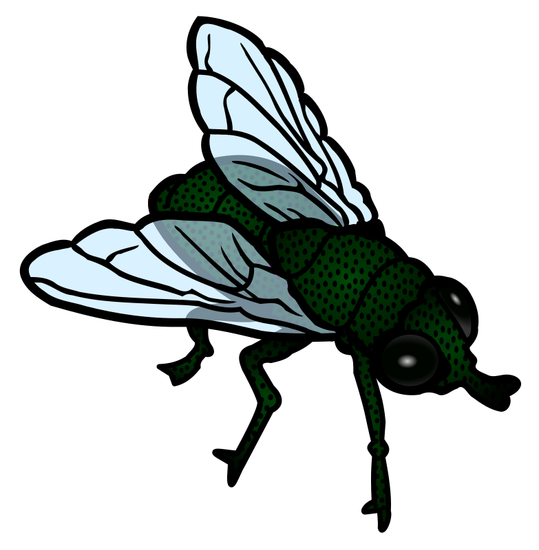 Free to Use & Public Domain Insects Clip Art.