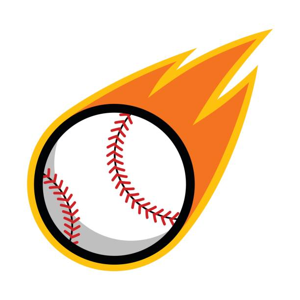 Best Fly Ball Baseball Illustrations, Royalty.