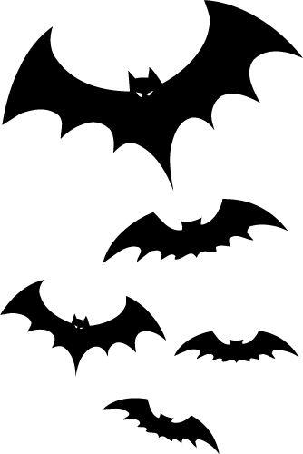 2017 Bats free clipart.