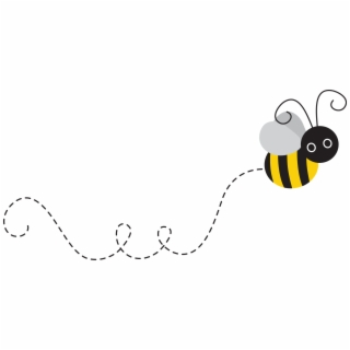 Flying Bee PNG Images.