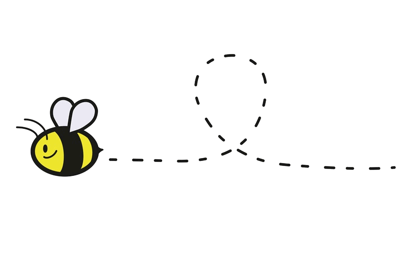 Clipart bee flying, Picture #401462 clipart bee flying.