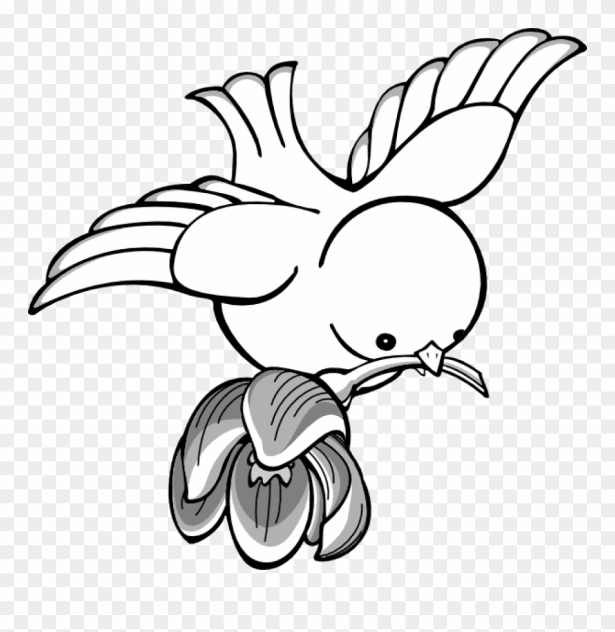 Jpg Royalty Free Bird Clipart Flying With.