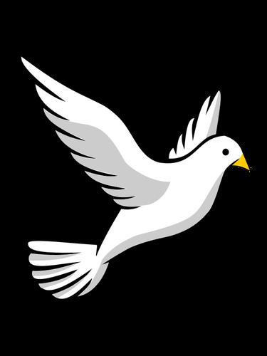 Black And White Bird Clipart.