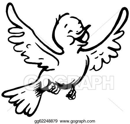 Flying birds clipart black and white 4 » Clipart Portal.