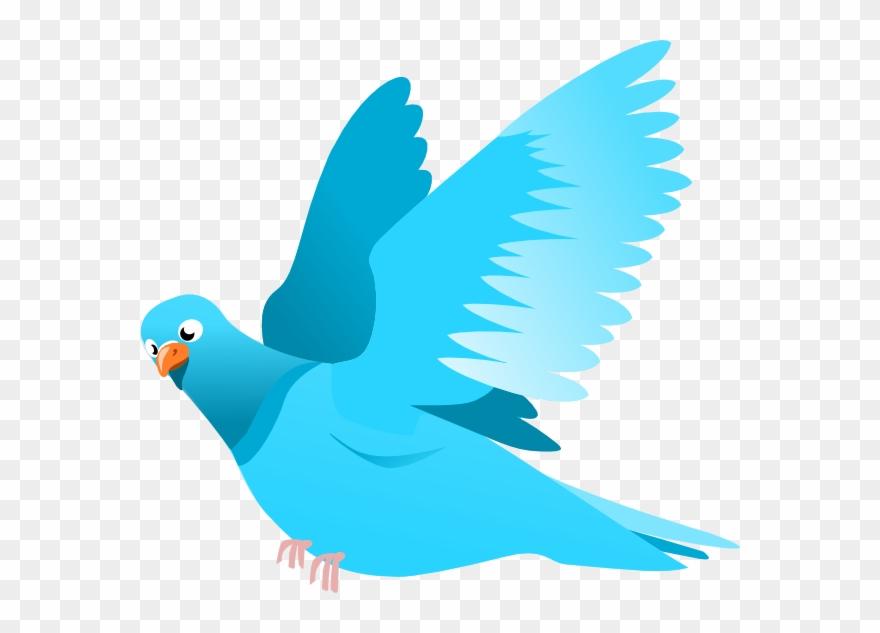 Blue Bird Clip Art At Clkercom Vector Online Royalty.