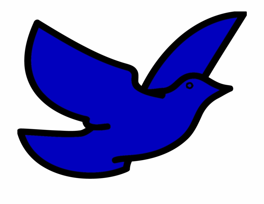 Pigeon Bird Clipart Png Blue Bird Flying Clipart.