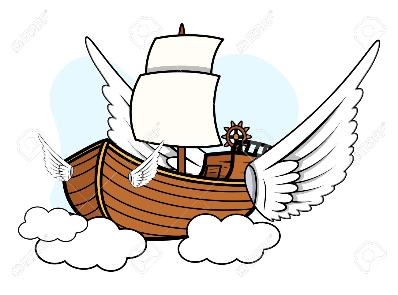 Flying Ship.