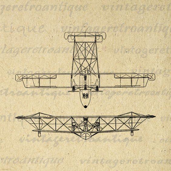 Flying boat, Digital image and Graphics vintage on Pinterest.