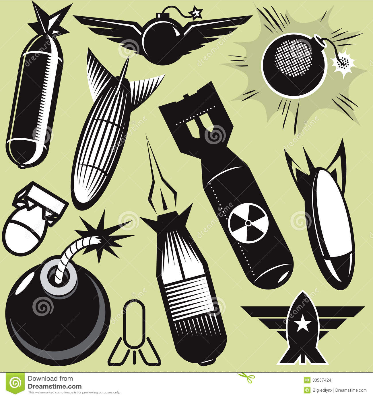 Wwii Bomb Clipart.