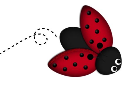 Flying bug clipart.