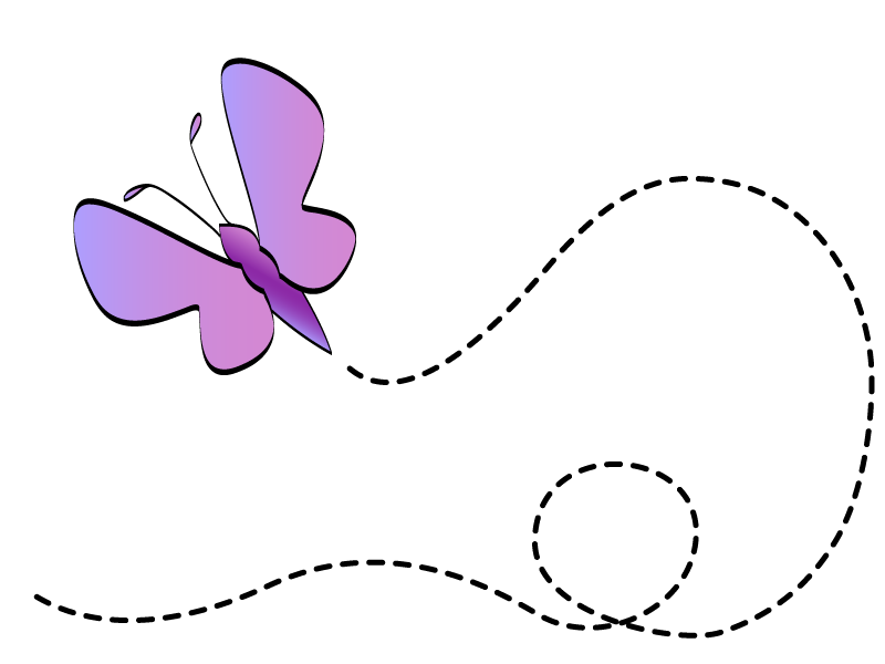 Flying butterfly clipart 5 » Clipart Station.