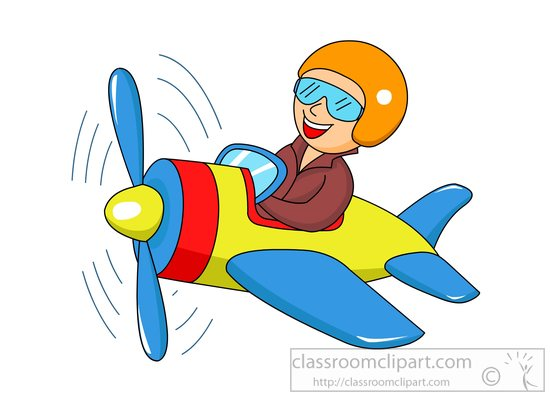 Flying Man Clipart.
