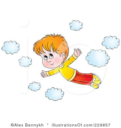 Clip Art Flying By Year Clipart.