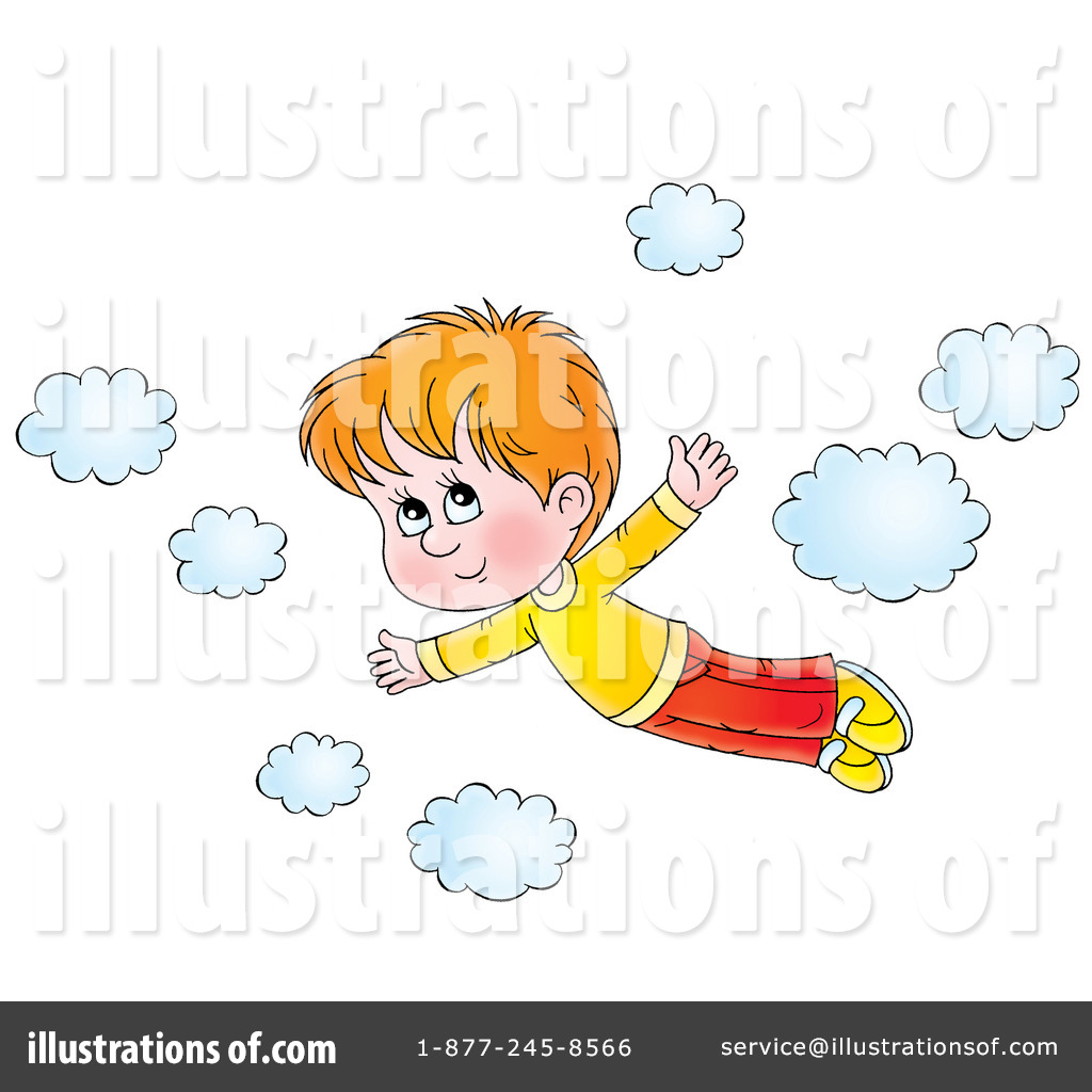 Flying Clipart.