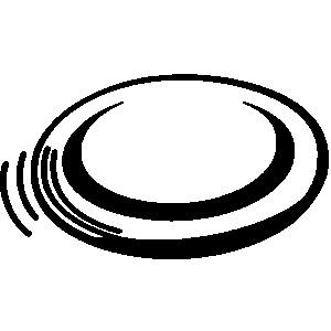 Frisbee clipart #5
