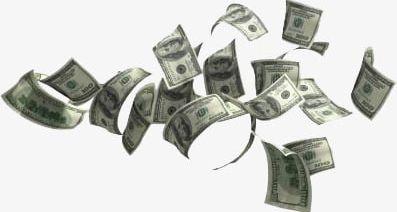Flying Dollar PNG, Clipart, Dollar, Dollar Clipart, Dollar Clipart.