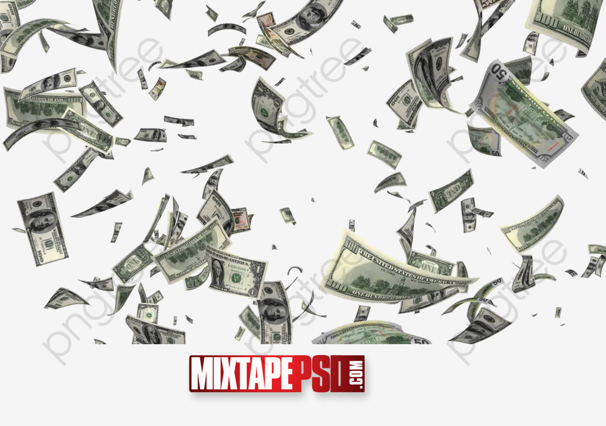 Money Flying Dollar, Money, Dollar, Fly PNG Transparent Clipart.