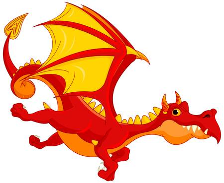 Flying dragon clipart 5 » Clipart Station.