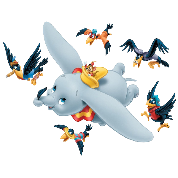 Dumbo the Flying Elephant Timothy Q. Mouse The Ringmaster.