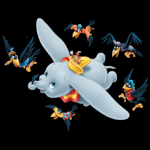 Dumbo the Flying Elephant Timothy Q. Mouse The Ringmaster.