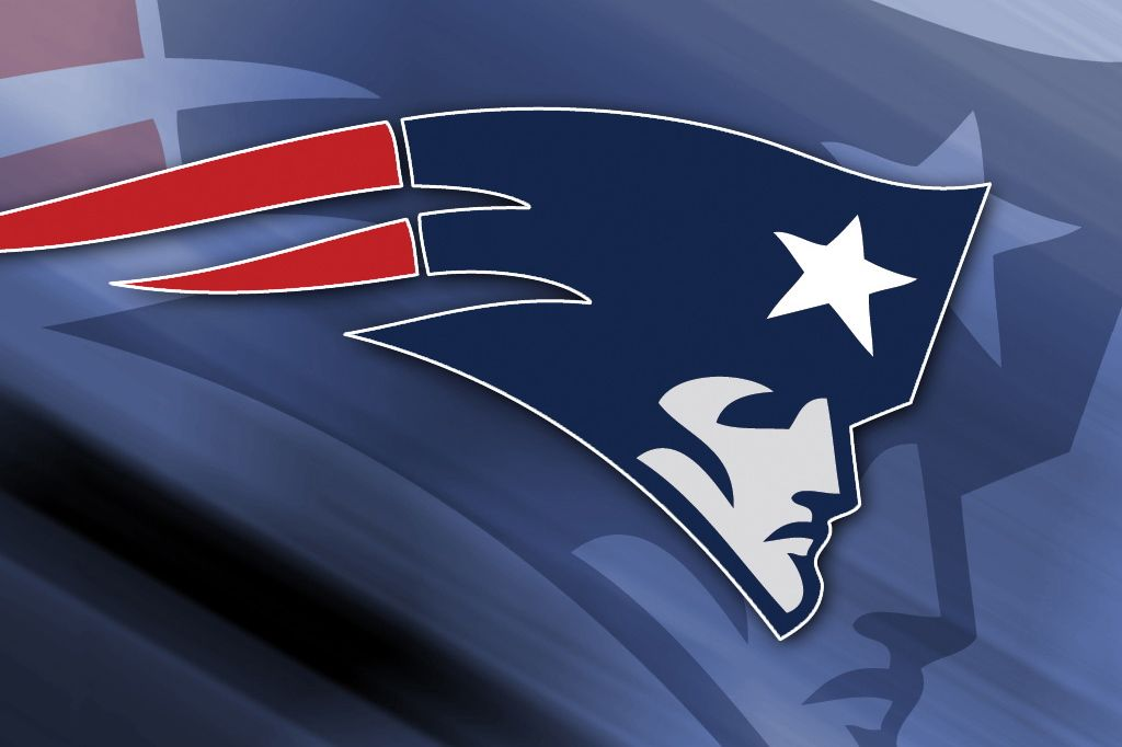 NE Patriots logo: Flying Elvis.