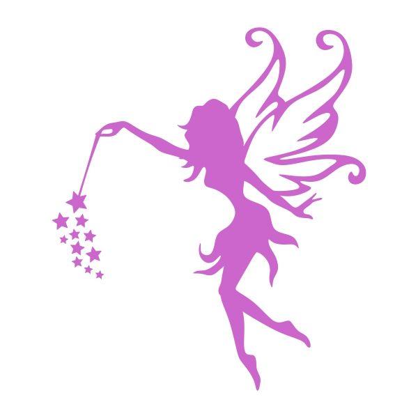 Flying Fairy Cuttable Design.