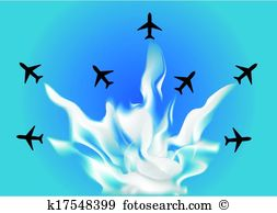 Flying formation Clipart Vector Graphics. 269 flying formation EPS.