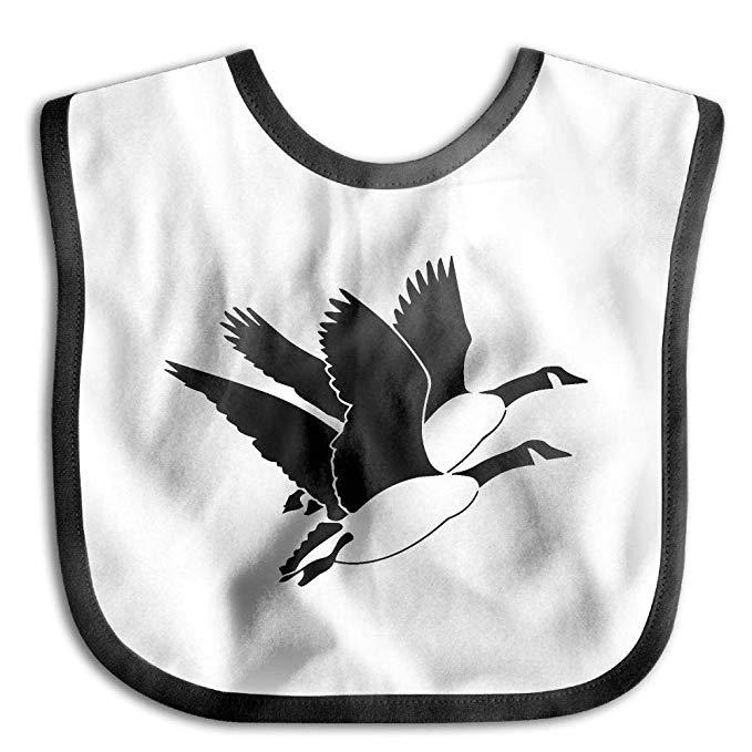 Amazon.com: Clipart Flying Goose Baby Cotton Saliva Towel.