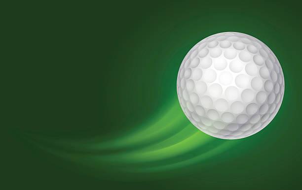 Best Flying Golf Ball Illustrations, Royalty.