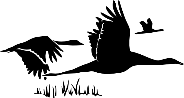 Flying Geese Clip Art at Clker.com.