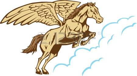 875 Flying Horse Stock Illustrations, Cliparts And Royalty Free.