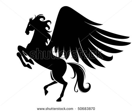 Flying Horse Clipart (72+).