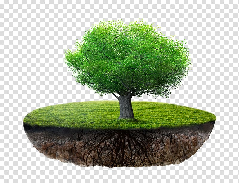 Floating island transparent background PNG clipart.