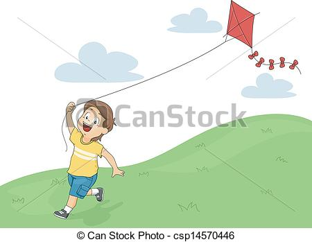 Boy flying kite clipart Stock Photos and Images. 35 Boy flying.