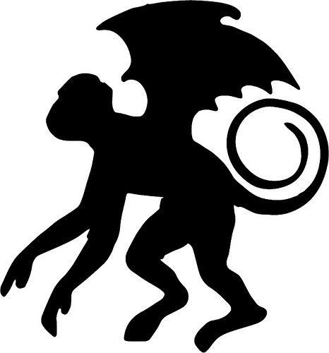 flying monkey in 2019.