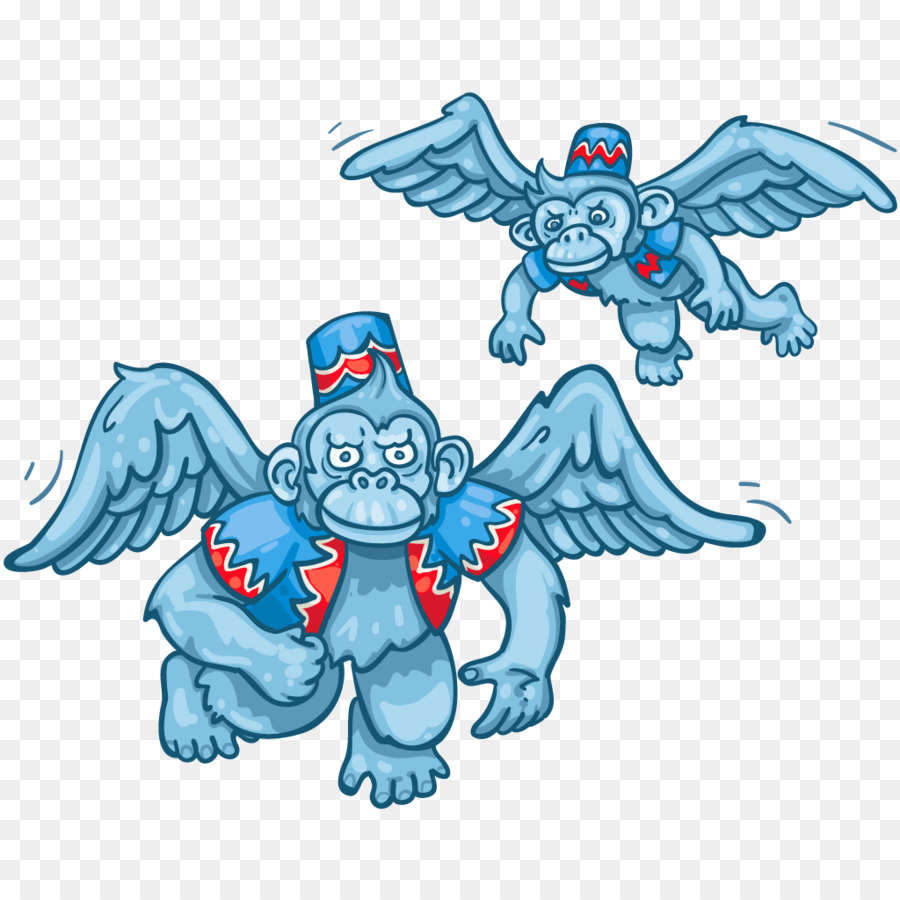Winged monkeys The Wizard Wicked Witch of the West Clip art.
